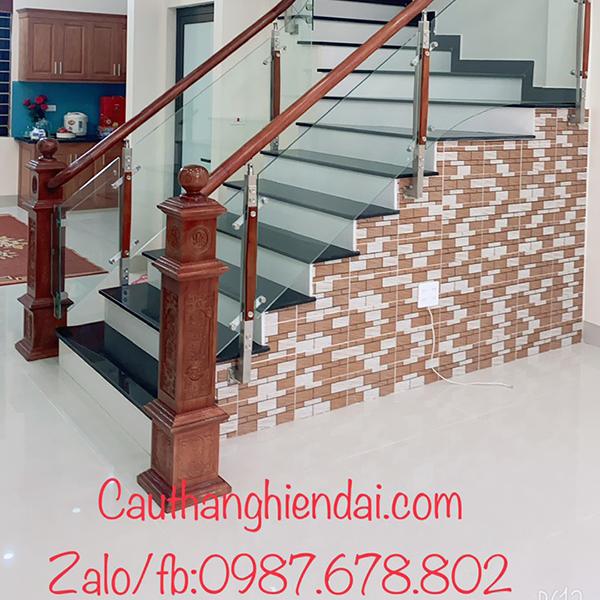 Cầu thang kính - CTHD - 14 class=