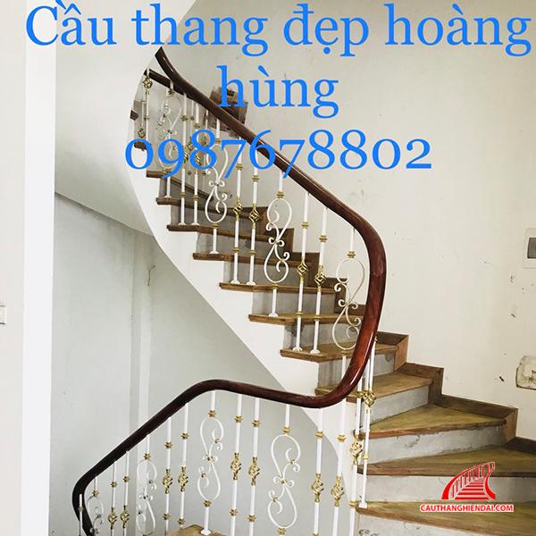 Cầu thang sắt nghệ thuật 53