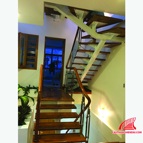 Cầu thang xương cá 01