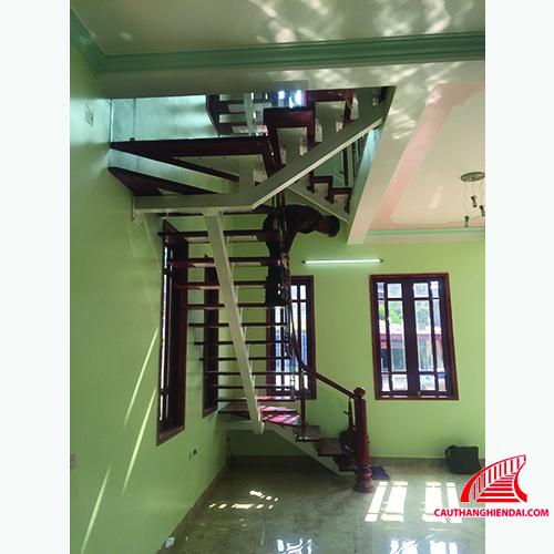 Cầu thang xương cá 03