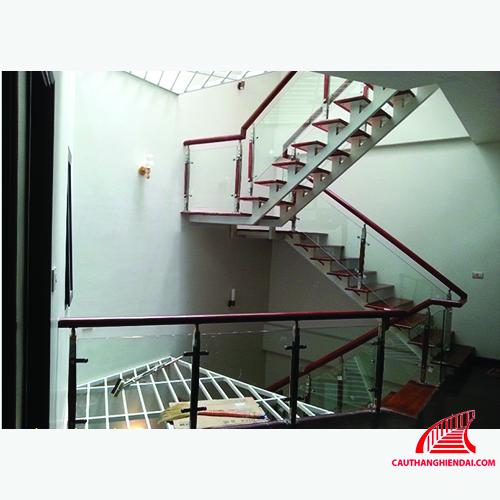 Cầu thang xương cá 06