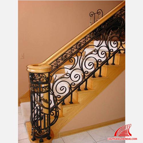 Cầu thang sắt nghệ thuật 22