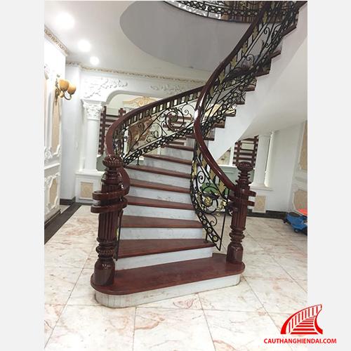 Cầu thang sắt nghệ thuật 25