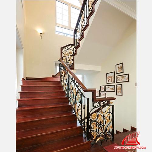 Cầu thang sắt nghệ thuật 28