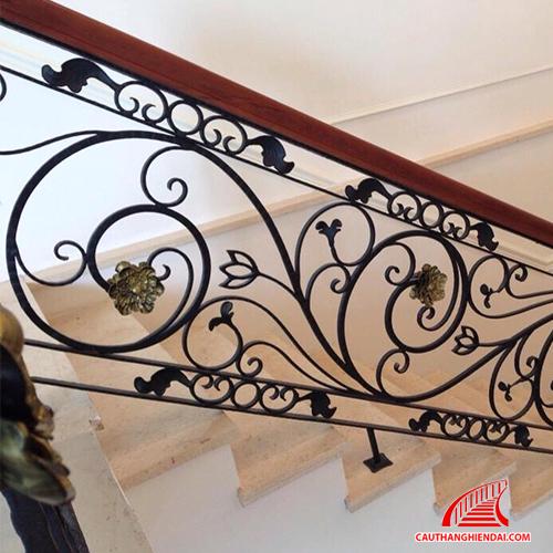 Cầu thang sắt nghệ thuật 31